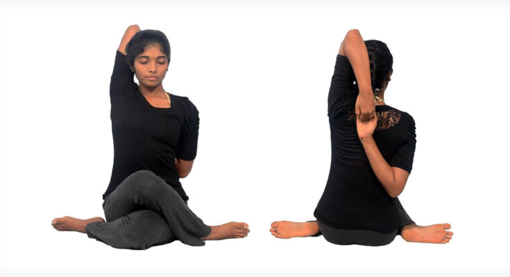 Gomukhasana Pose